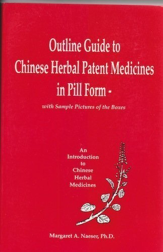 Outline Guide to Chinese Herbal Patent Medicines in Pill Form - With Sample Pictures of the Boxes