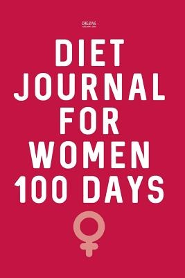 Diet Journal for Women 100 DaysWeight Loss Diary