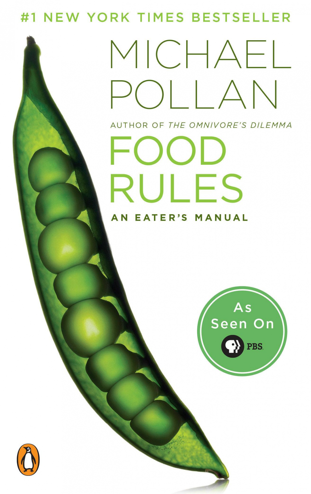 Food Rules by Michael PollanOn Tour, ISBN: 9780143116387