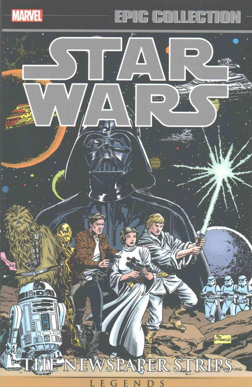 Star Wars Legends Epic Collection: The Newspaper Strip Vol. 1 by Russ Manning, ISBN: 9781302904647