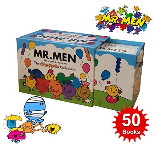 Mr Men Complete Collection 50 Book Box Gift Set by Roger Hargreaves (2014 Edition) (Paperback)