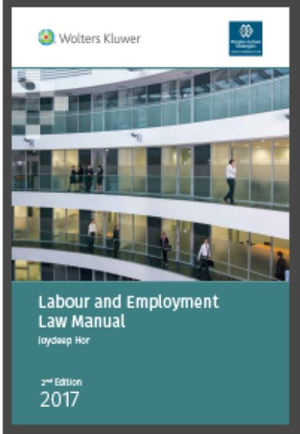Labour & Employment Law Manual