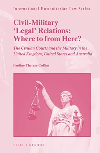 Civil-Military 'Legal' Relations: Where to from Here?The Civilian Courts and the Military in the Uni...