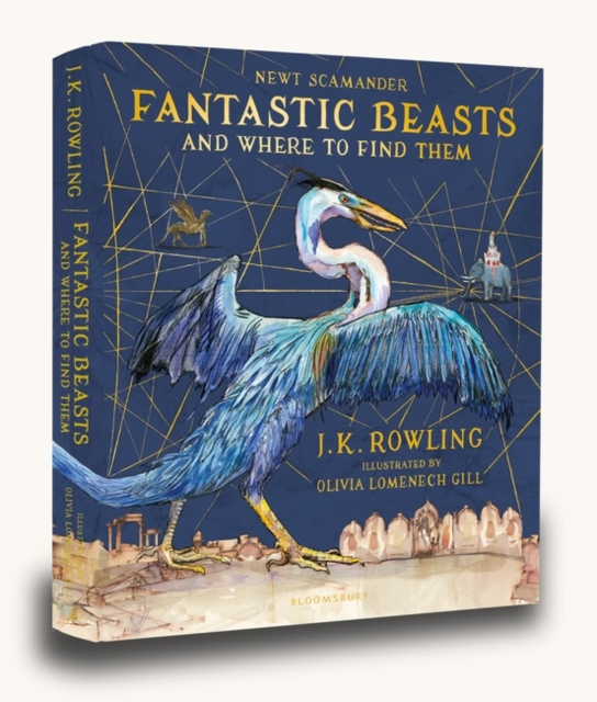 Fantastic Beasts and Where to Find Them: Illustrated Edition by J.K. Rowling, ISBN: 9781408885260