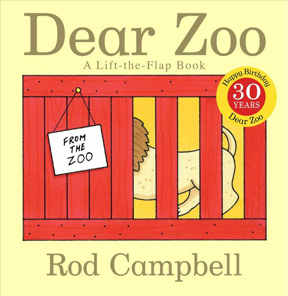 Dear Zoo: A Lift-the-Flap Book by Rod Campbell, ISBN: 9781416947370