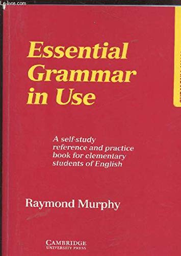 Booko comparing prices for essential grammar in use edition with essential grammar in use edition with answers by raymond murphy isbn 9780521357708 fandeluxe Image collections