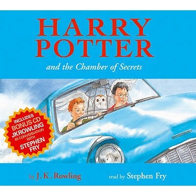 Harry Potter and the Chamber of Secrets children's edn 8XCD