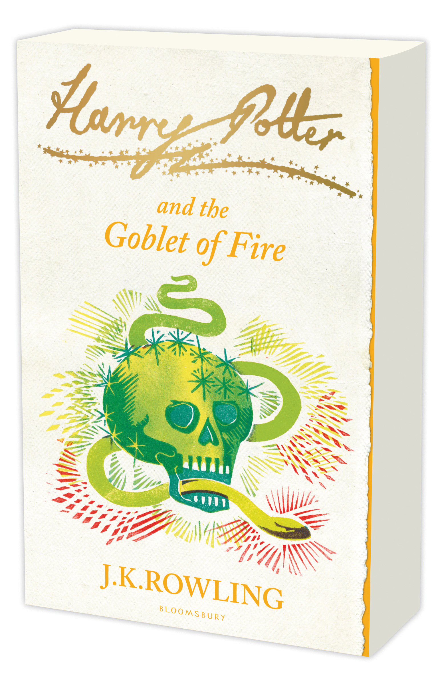 Cover Art for Harry Potter and the Goblet of Fire signature edition, ISBN: 9781408810576