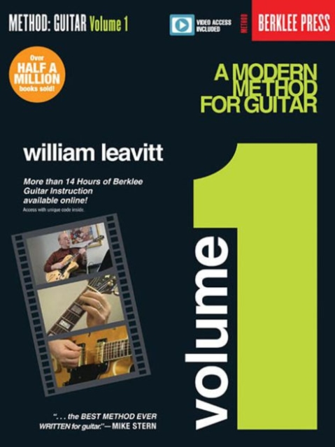 A Modern Method for Guitar - Volume 1Book/Online Video