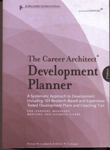 The Career Architect Development Planner