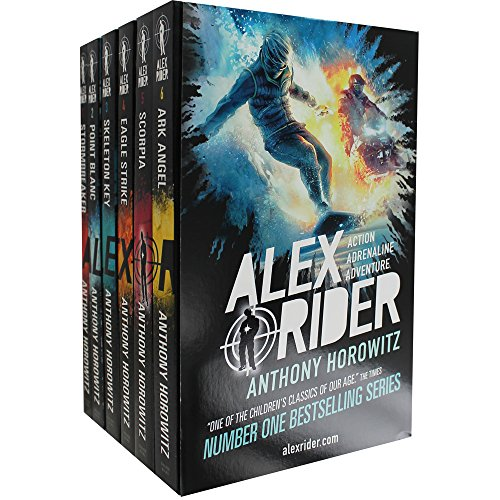 Alex Rider Books 1-6
