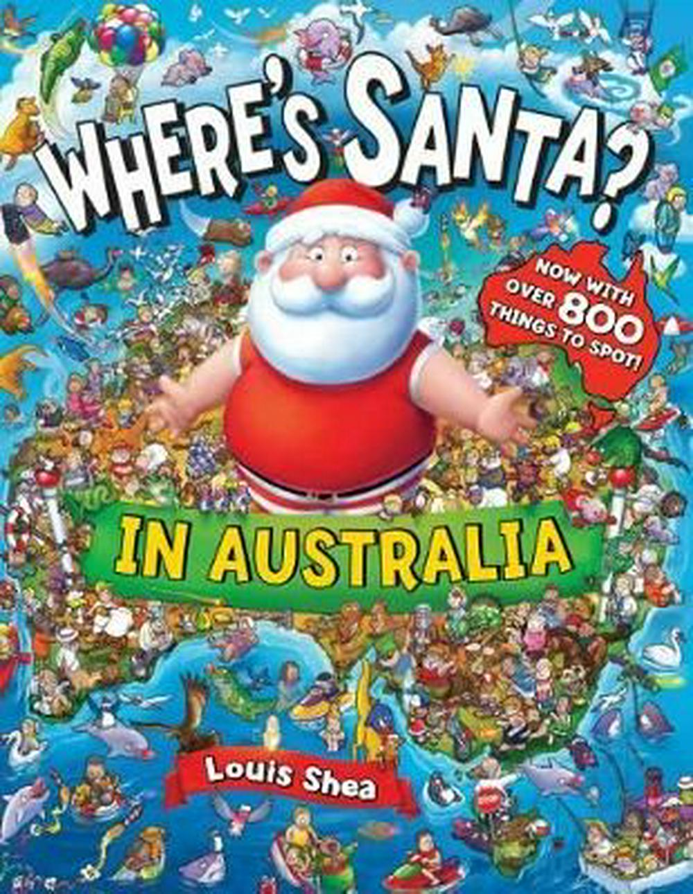 Where's Santa? In Australia NEW EDITION