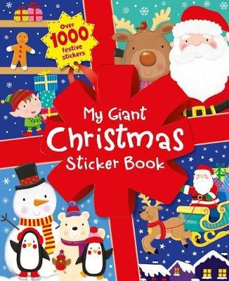 My Giant Christmas Sticker Book: Over 1000 Festive Stickers