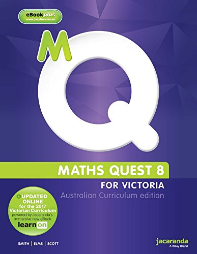 Maths Quest 8 Australian Curriculum Victorian Edition & eBookPLUS