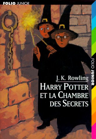 Cover Art for Harry Potter Et La Chambre Des Secrets, ISBN: 9782070524556