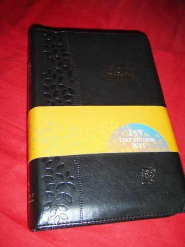 BLACK Leather Bound MODERN CHINESE - ENGLISH Bilingual Holy Bible / CNV - ESV / Cross Zipper, Golden Edges / Chinese New Version - English Standard Version / Simplified / Shen Edition by Bible Society, ISBN: 9789888124596