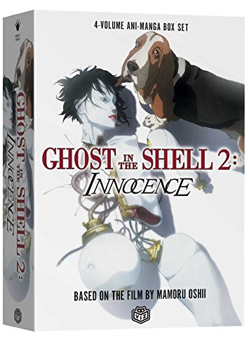 Ghost in the Shell 2: Innocence: 4-Volume Ani-Manga Box Set by Mamoru Oshii, ISBN: 9781591168294