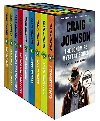 The Longmire Mystery Series Boxed Set Volumes 1-9: The First Nine Novels (Longmire Mysteries)