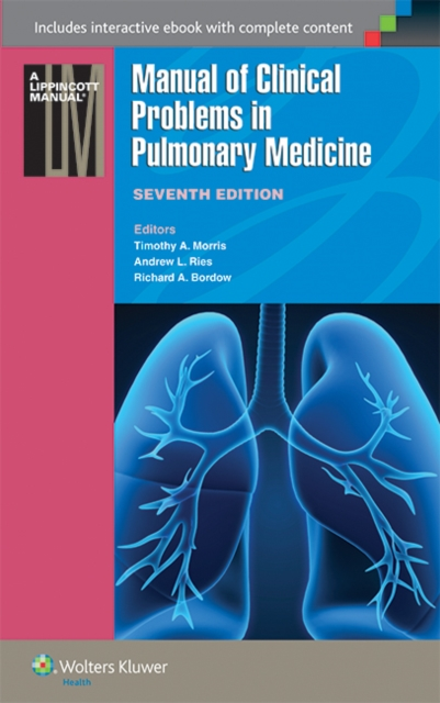 Manual of Clinical Problems in Pulmonary Medicine by Bordow, ISBN: 9781451116588