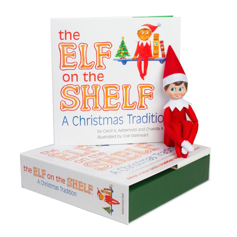 The Elf on the Shelf: A Christmas Tradition (includes blue-eyed boy scout elf) by Carol V. Aebersold, Chanda A. Bell, ISBN: 9780976990703
