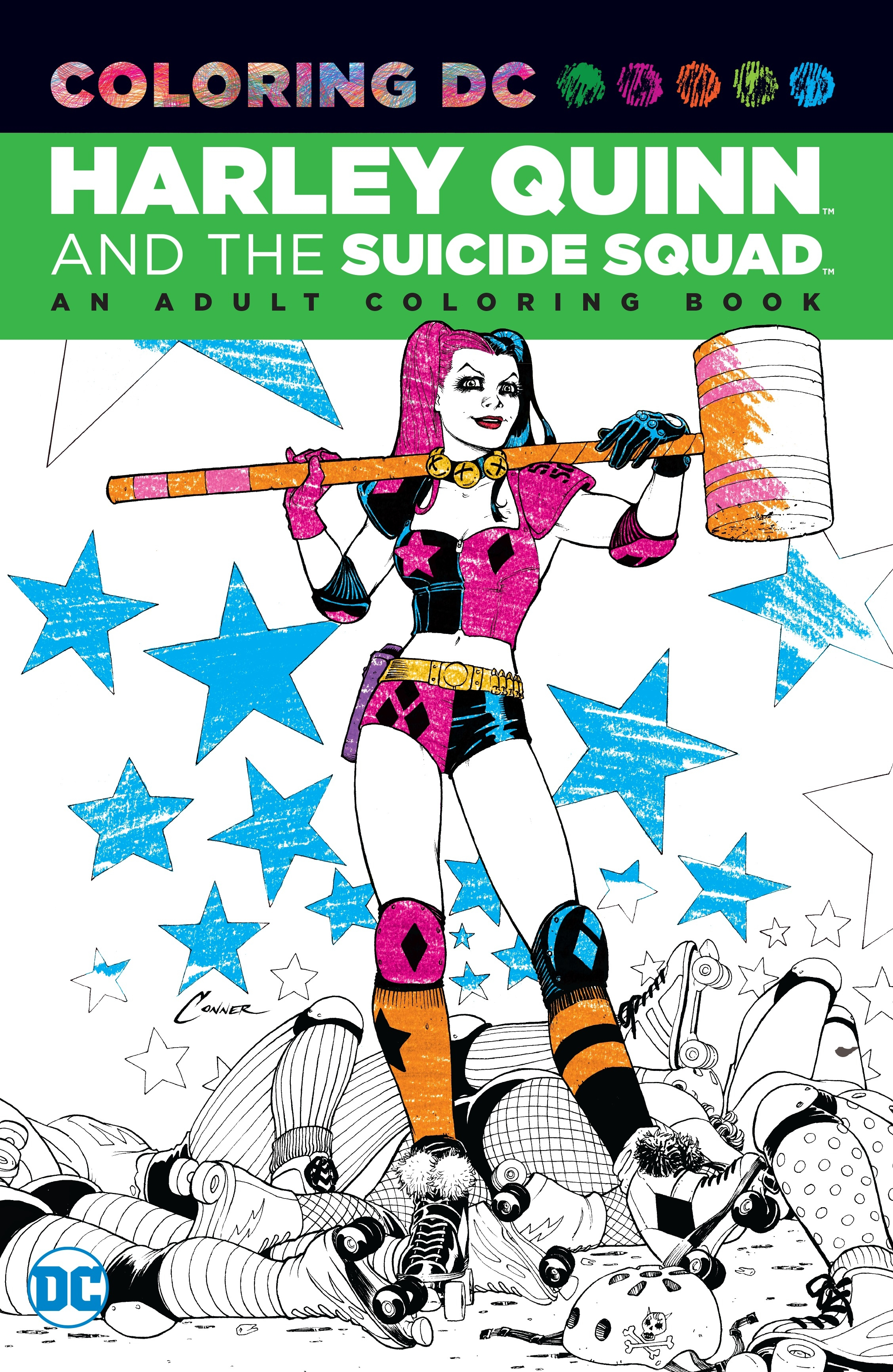 Coloring DCHarley Quinn & the Suicide Squad