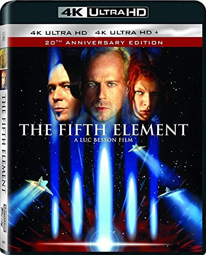 Fifth Element 4K Uhd 20th Anniversary Edition Region Free