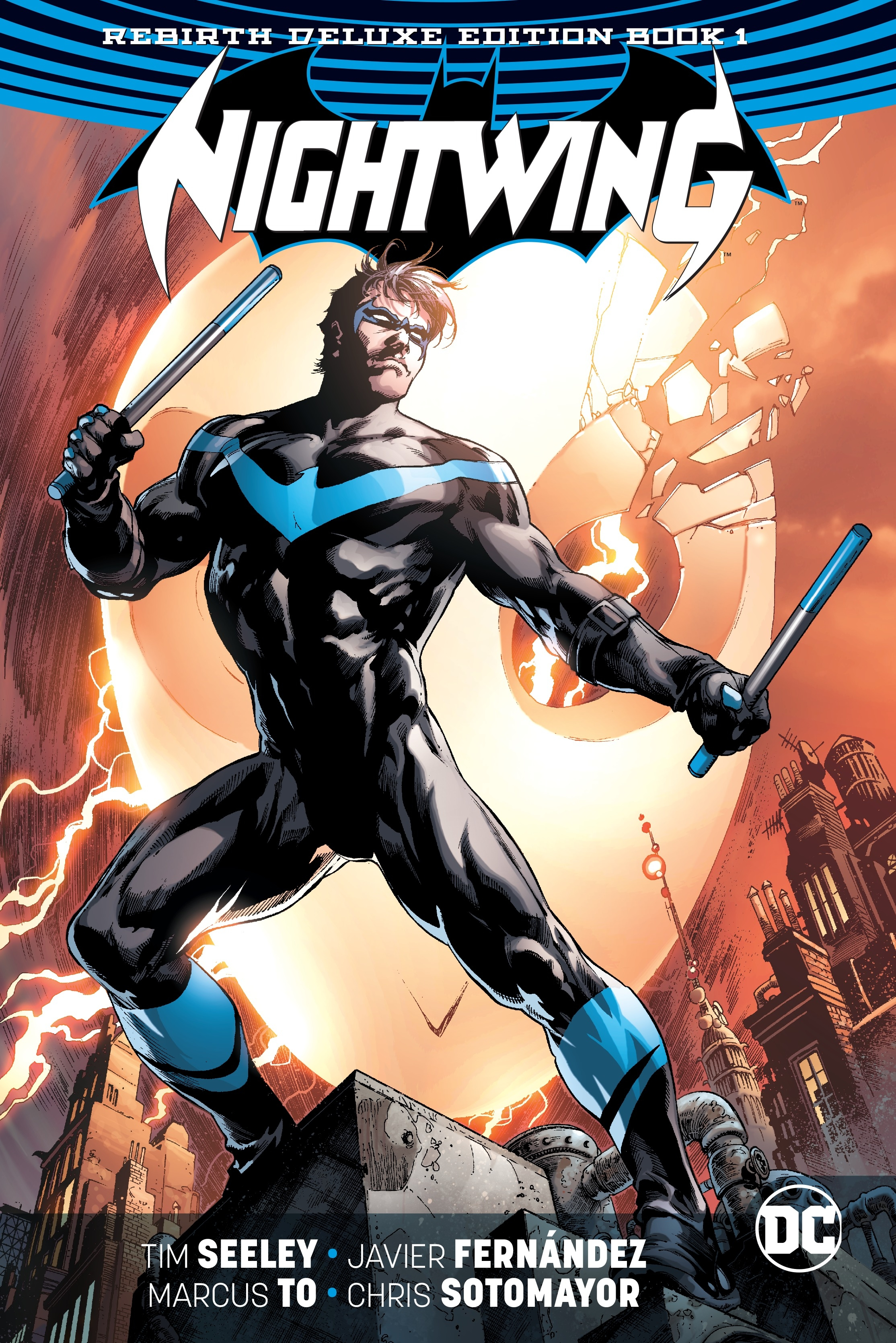 Nightwing: The Rebirth Deluxe Edition Book 1 by Tim Seeley, ISBN: 9781401273750