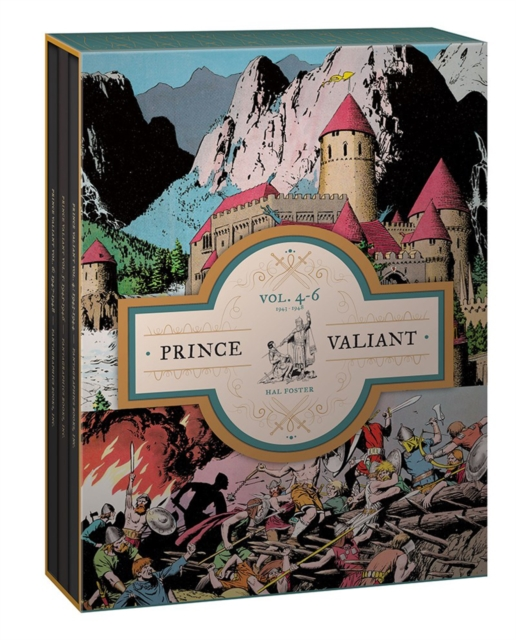 Prince Valiant Vols. 4-6 Gift Box Set by Hal Foster, ISBN: 9781683961451