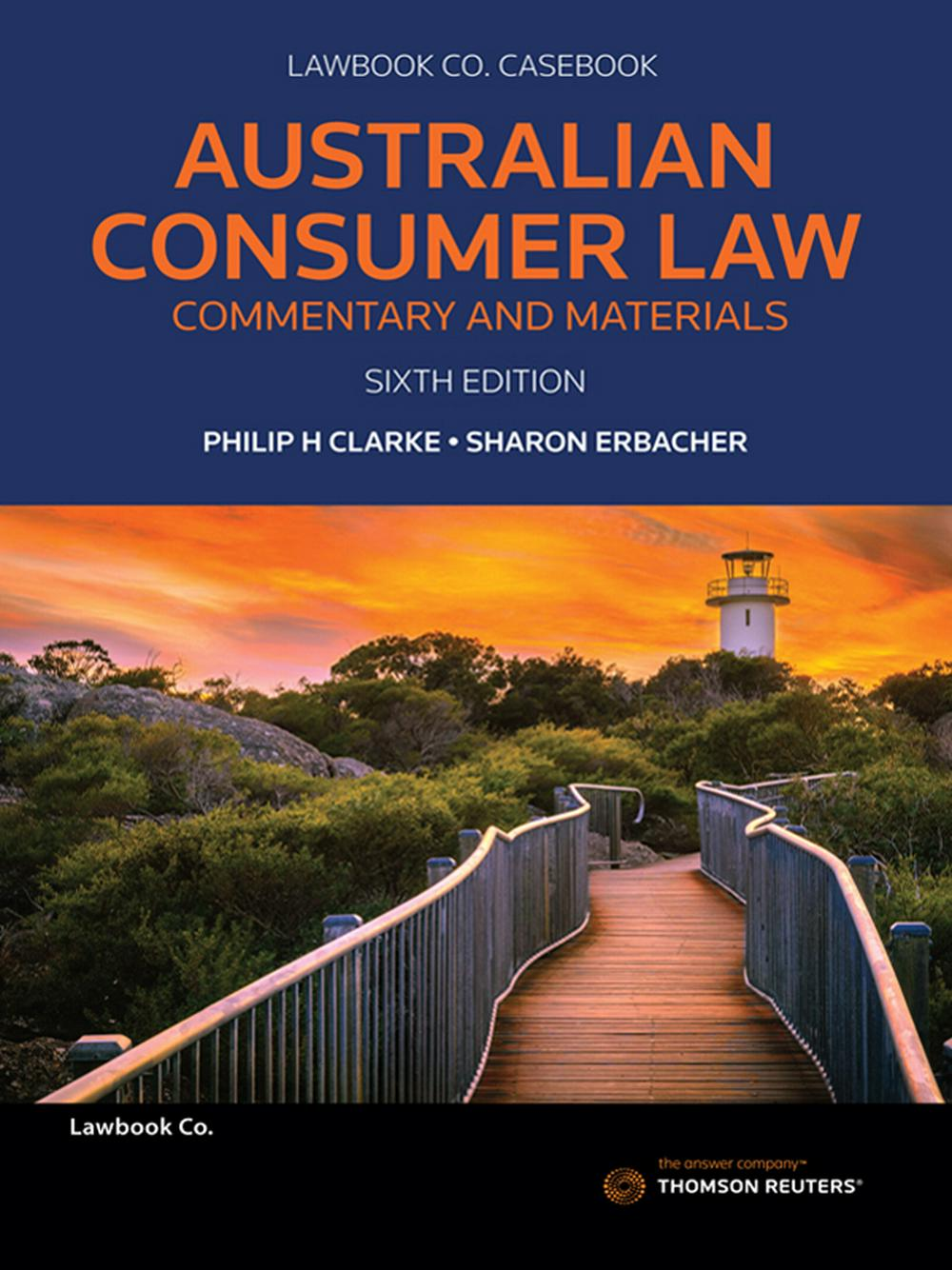 Australian Consumer Law: Commentary & Materials