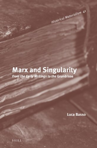 Marx and Singularity by Luca Basso, ISBN: 9789004233867