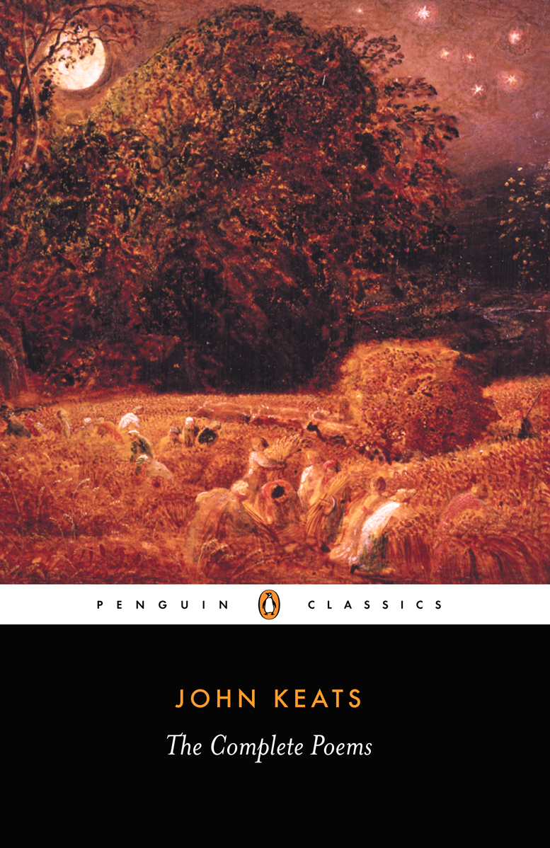 comparitive keats Comparitive study of three odes, ode to a nightingale, ode on a grecian urn and to autumn by john keats, focusing on the dominant themes and symbols.