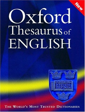 Oxford Thesaurus of English by Maurice Waite, ISBN: 9780198608622
