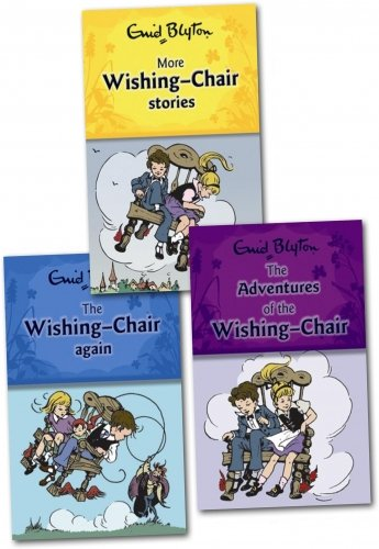 Enid Blyton The Wishing Chair Collection 3 Books Set Pack RRP: £ 14.97 (The Adventures of the Wishing-chair, The Wishing-chair Again, More Wishing-chair Stories) (Enid Blyton The Wishing Chair Collection)
