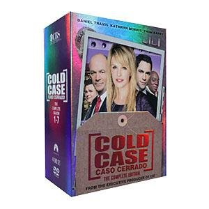 Cold Case Seasons 1-7 DVD complete Boxset Region free
