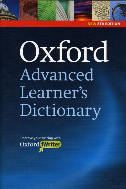Oxford Advanced Learner's Dictionary: Paperback and CD-ROM with Oxford iWriter
