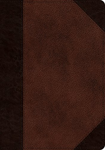 ESV Journaling Bible, Interleaved Edition (Trutone, Brown/Walnut, Portfolio Design)