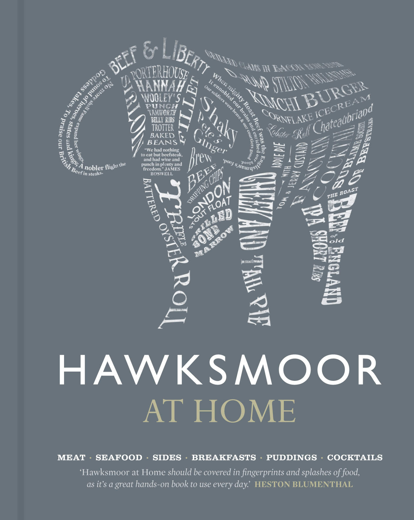 Hawksmoor at Home: Meat - Seafood - Sides - Breakfasts - Puddings - Cocktails by Huw Gott  ,     Richard Turner  ,     Will Beckett, ISBN: 9781848093355