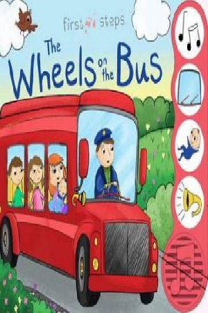 First Steps 4 Sound Book  Wheels On The Bus