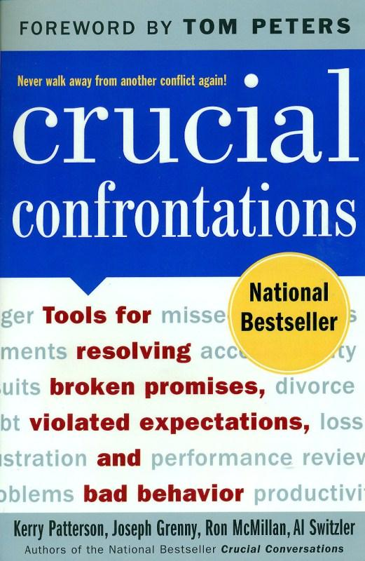 Crucial Confrontations by Kerry Patterson, ISBN: 9780071446525
