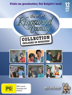 Kingswood Country - Best Of Collection (Vol. 1-4) - 12-DVD Box Set ( Best Of Kingswood Country Collection ) ( Kingswood Country - Best Of Collection Volumes One to Four ) [ NON-USA FORMAT, PAL, Reg.0 Import - Australia ]