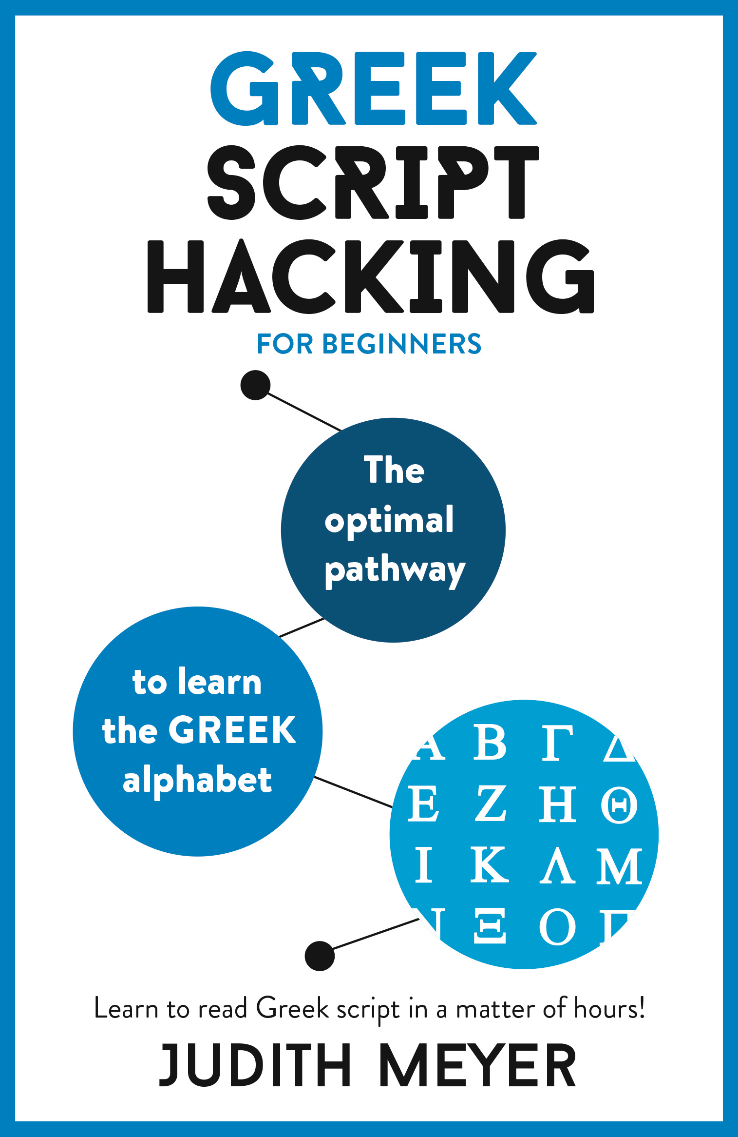 Greek Script Hacking: The optimal pathway to learn the Greek alphabet