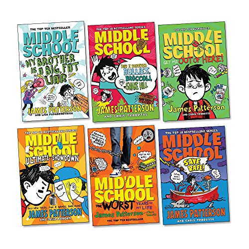 Middle School Pack, 6 books, RRP £41.94 (My Brother is a Big, Fat Liar; The Worst Years Of My Life; Get Me Out Of Here!; How I Survived Bullies,Broccoli, Snake Hill; Save Rafe!; Ultimate Showdown).