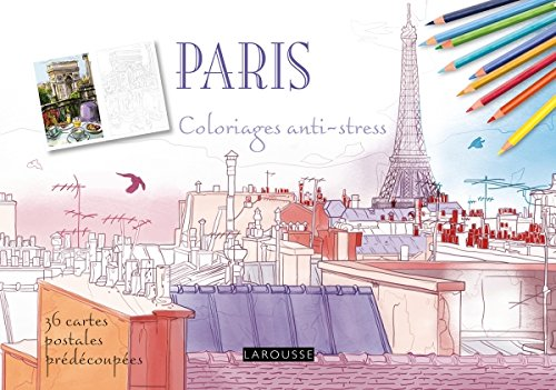 Paris, coloriages anti-stress