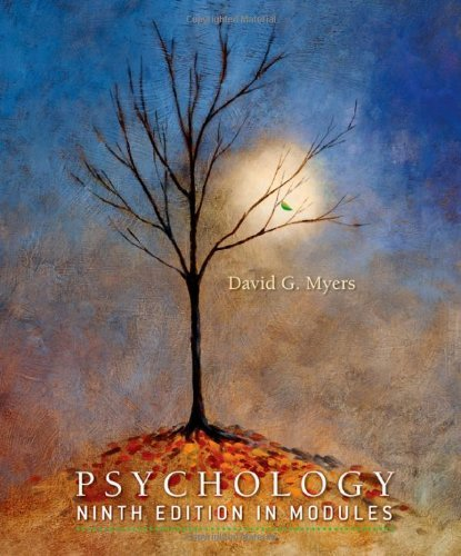 Psychology In Modules by David G. Myers, ISBN: 9781429216388