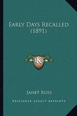 Early Days Recalled (1891)