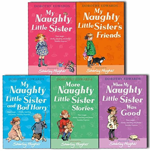 My Naughty Little Sister Collection, 5 books, RRP £29.95 (My Naughty Little Sister; More Naughty Little Sister Stories; My Naughty Little Sister's Friends; My Naughty Little Sister and Bad Harry; When My Naughty Little Sister Was Good) (My Naughty Little