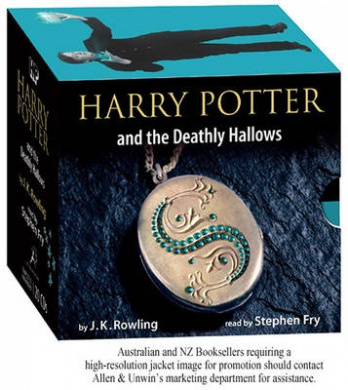 Harry Potter and the Deathly Hallows adult jacket edition 20XCD