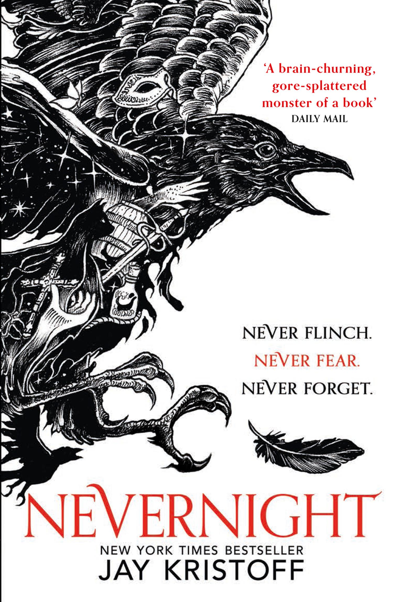 Nevernight by Jay Kristoff, ISBN: 9780008204013