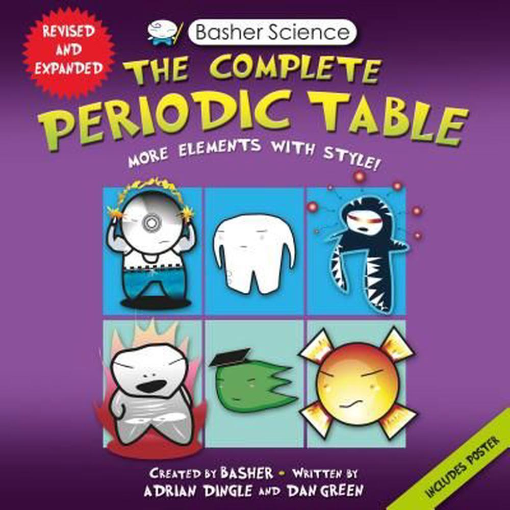 Basher Science: The Complete Periodic Table: All the Elements with Style