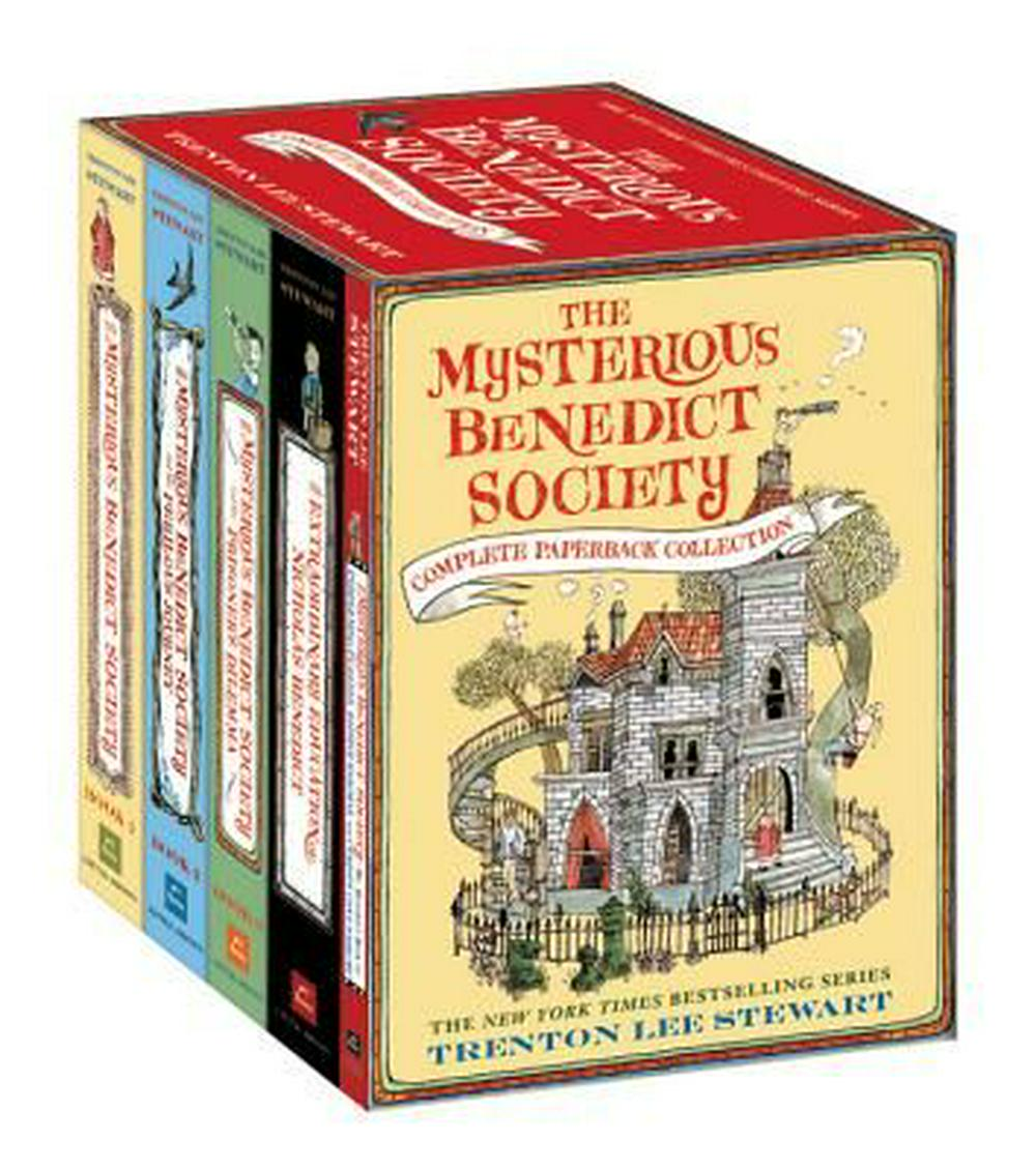 The Mysterious Benedict Society Complete Paperback Collection by Trenton Lee Stewart, ISBN: 9780316318150